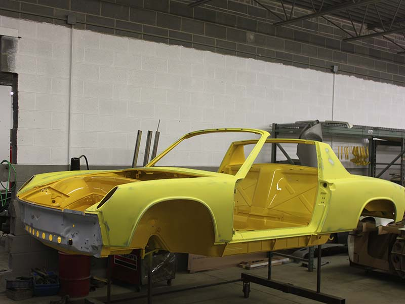 Restoration Project 1971 Porsche 914 6 Pete S Custom